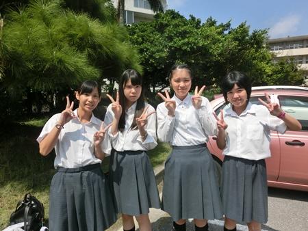 陽明高等学校制服画像
